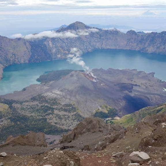 Rinjani-volcano trek