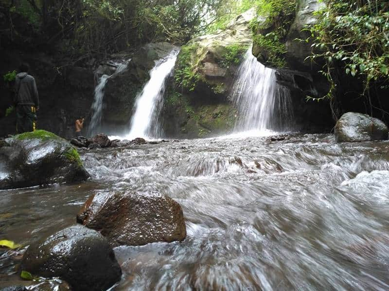 Tetebatu waterfall