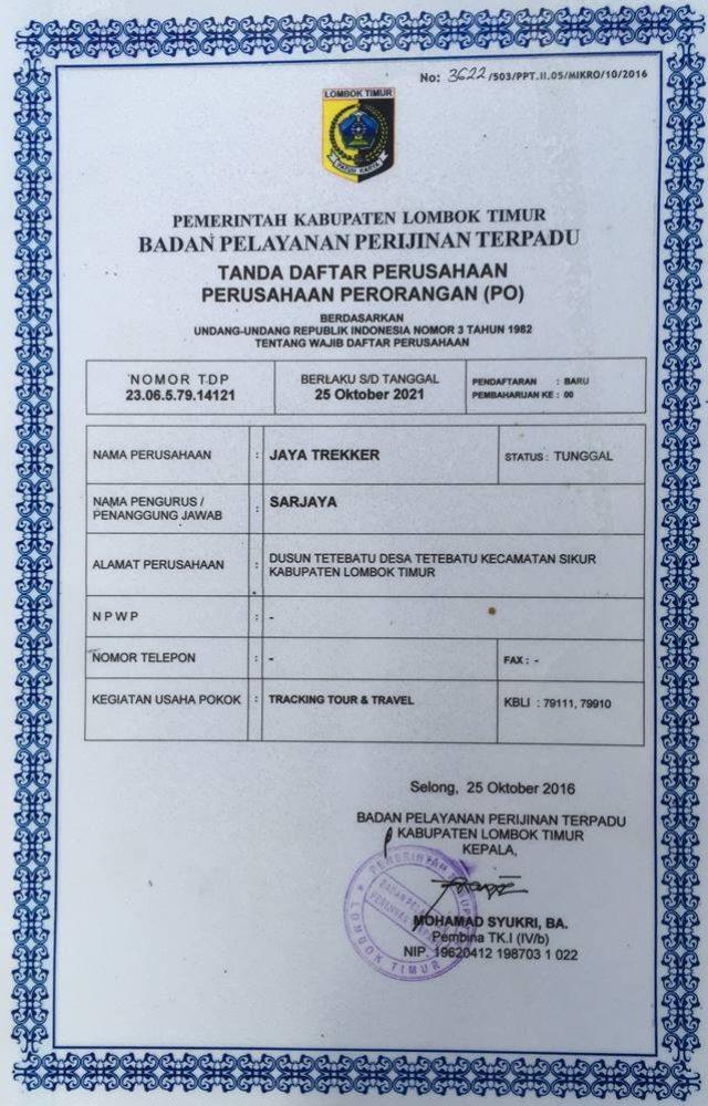 Jaya Licensed 1