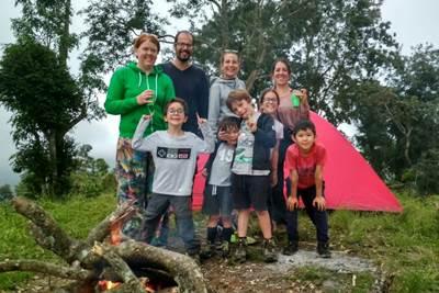 Family Hiking To Gunung Kukus